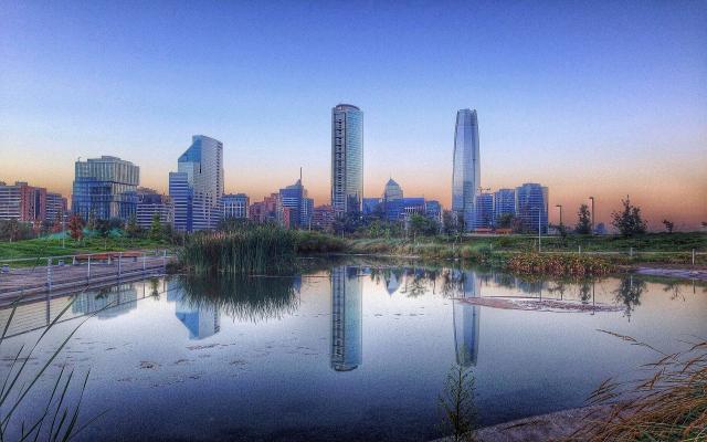 Wallpapers Landscape Cityscape Santiago De Chile Metropolis