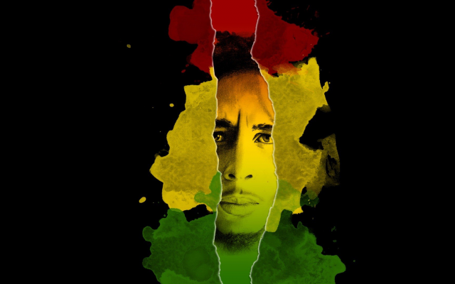 1920x1080 pix. Wallpaper Bob Marley, music, Jamaica, flag, singer