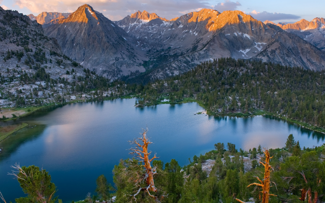 3500x1969 pix. Wallpaper Sequoia National Park, california, usa, nature, landscape, tree, lake, mountains