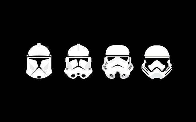 stormtrooper helmets widescreen wallpaper - photo #18