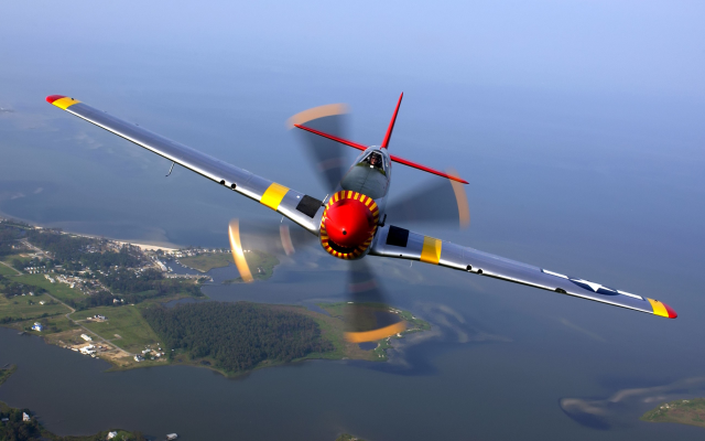 2658x1614 pix. Wallpaper North American, P-51, Mustang, airplane, aviation, wings, flying