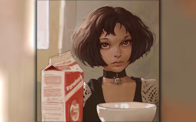 Wallpapers Leon: The Professional, Mathilda, milk натали портман леон