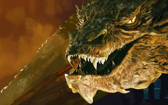smaug the dragon from the hobbit 2012   imgkid