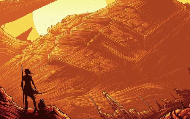 Wallpaper Star Wars Episode VII