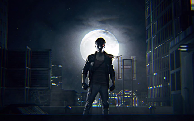 1920x1080 pix. Wallpaper Kung Fury, movies, night, moon