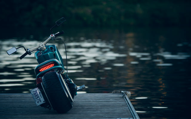 4065x2929 pix. Wallpaper honda ruckus, motorcycle, nature, water, honda