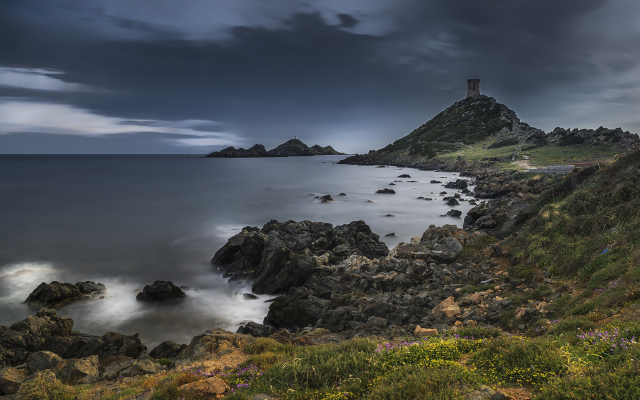 2048x1280 pix. Wallpaper Ajacio, Corsica, France, landscapes, coastal, sea, beach