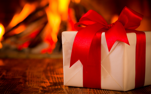 6000x4500 pix. Wallpaper christmas, xmas, fire, gift, new year