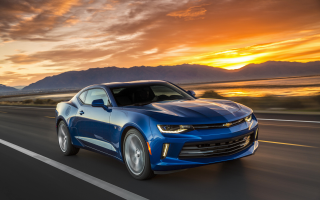 3000x2000 pix. Wallpaper 2016 chevrolet camaro, car, sunset, chevrolet