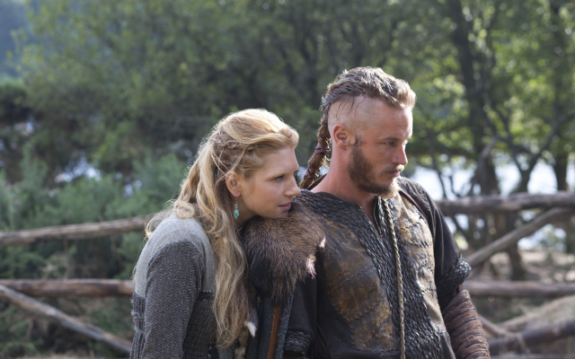 Wallpaper Vikings Tv Series Lagertha Lothbrok Ragnar Lodbrok Movies
