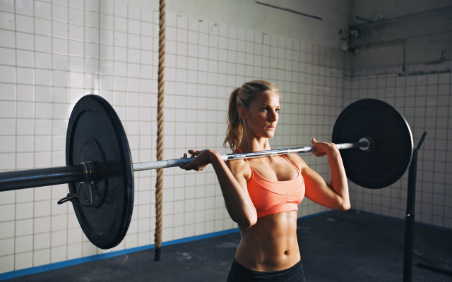 wallpapers crossfit workout weight lifting women gym