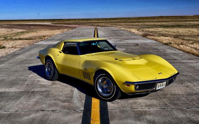 Wallpaper 1969 Chevrolet Corvette Stingray Car