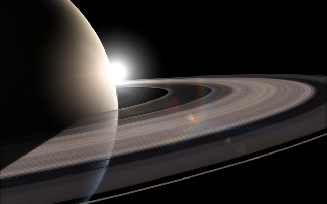 3840x2400 pix. Wallpaper Saturn, planet, Solar System, planetary rings, space