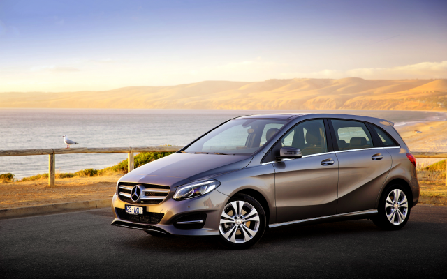 4096x2731 pix. Wallpaper 2015 mercedes-benz b 200 urban line au-spec w246, car, sea, mercedes