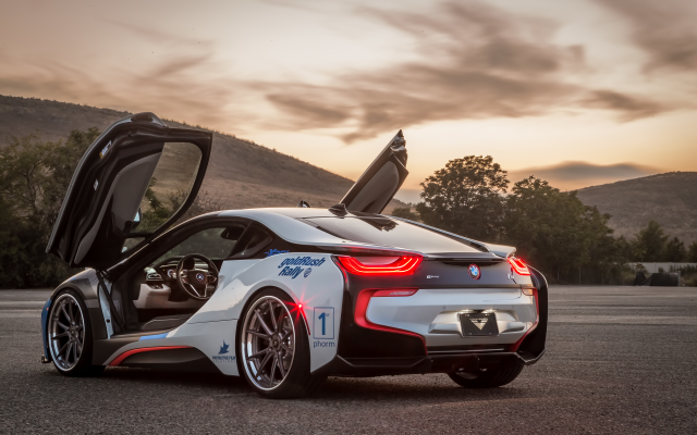 5760x3840 pix. Wallpaper bmw i8, vorsteiner, tuning, cars
