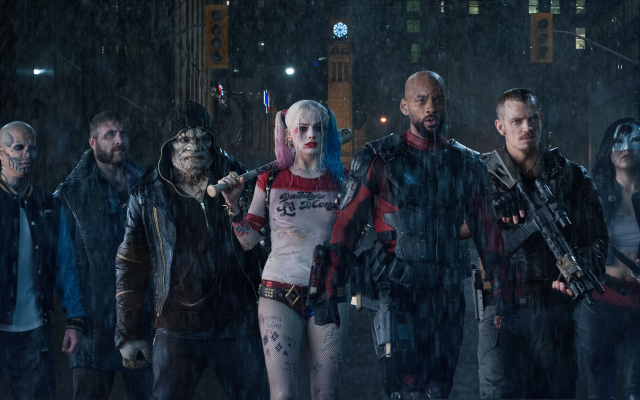 4656x2449 pix. Wallpaper suicide squad, margot robbie, harley quinn, will smith, deadshot, rains, movies