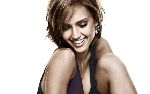 2560x1600 pix. Wallpaper Jessica Alba, smile, actress