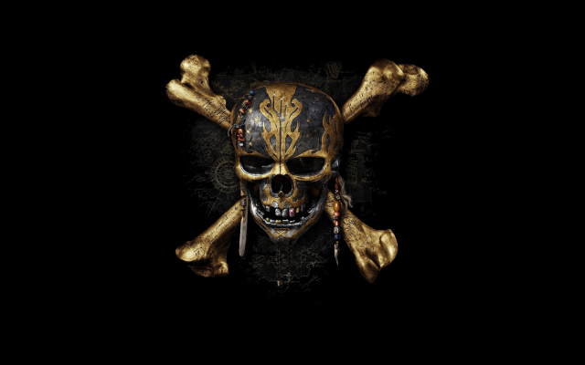 3840x2160 pix. Wallpaper pirates of the caribbean: dead men tell no tales, logo, pirate, skull, movies