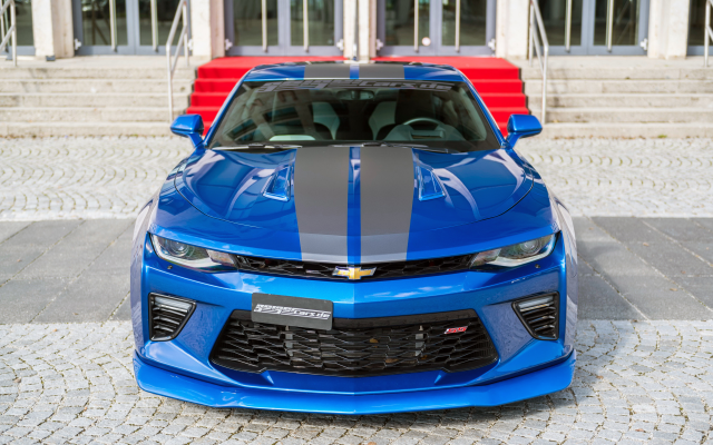 4096x2731 pix. Wallpaper chevrolet camaro, cars, blue car, chevrolet