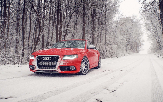 1920x1130 pix. Wallpaper red audi s4, snow, winter, audi s4, cars, audi