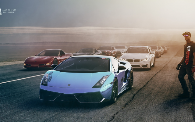 2048x1117 pix. Wallpaper supercars, car, racing, man, cap, bmw, bugatti