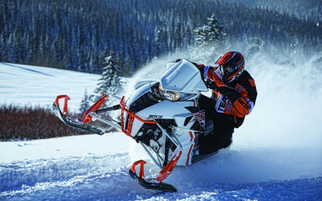 2400x1600 pix. Wallpaper snowmobile, extreme, sport, winter, nature, snow