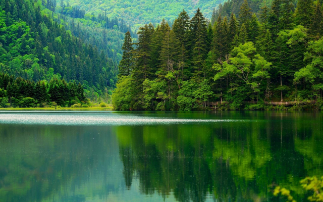 2048x1338 pix. Wallpaper jiuzhaigou, sichuan, asia, china, nature, mountains, forest, lake, beautiful, reflection