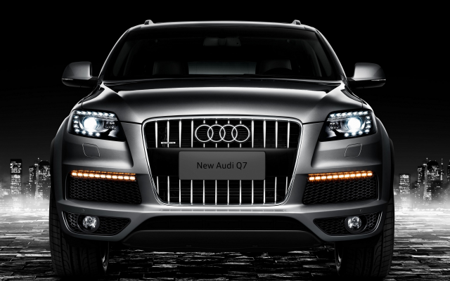 3840x2160 pix. Wallpaper 2008 audi q7 s line, audi q7, audi, cars, night, city