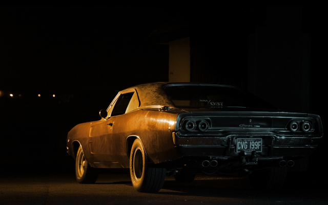 2560x1600 pix. Wallpaper dodge charger, cars, night, retro cars, dodge