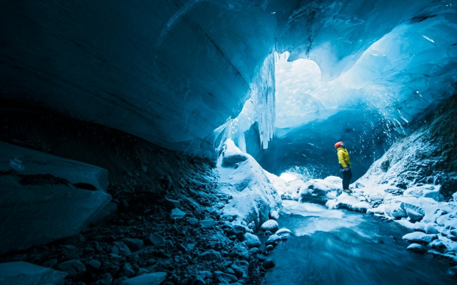 1920x1200 pix. Wallpaper gigjokull, ice, ice cave, winter, glacier cave, iceland, nature