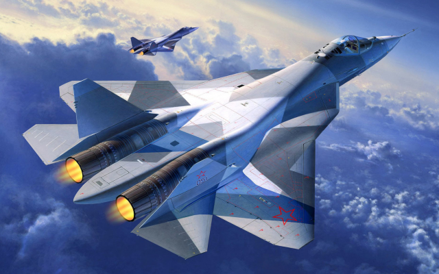 1920x1080 pix. Wallpaper sukhoi pak fa, sukhoi, pak fa, aviation, aircraft, t-50, fifth-generation fighter