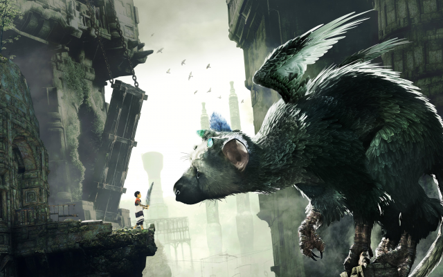 3840x2160 pix. Wallpaper the last guardian, video games, trico