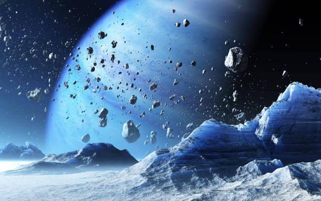 2560x1600 pix. Wallpaper rock, planet, space, blue planet