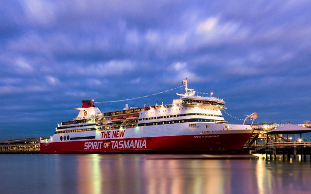 2048x1140 pix. Wallpaper sea, cruise ship, ship, spirit of tasmania 2, spirit of tasmania