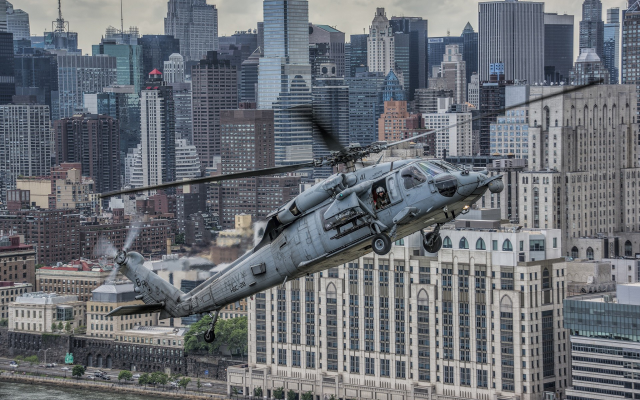 1920x1200 pix. Wallpaper helicopters, military aircraft, aircraft, blackhawk, Sikorsky UH-60 Black Hawk, city, cityscape, sky