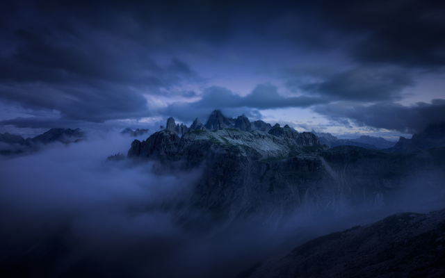 6016x3682 pix. Wallpaper nature, mountains, clouds, alps, dolomites