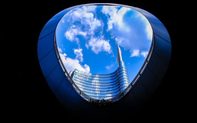 3000x1862 pix. Wallpaper city, unicredit tower, milan, italy, skyscrapers