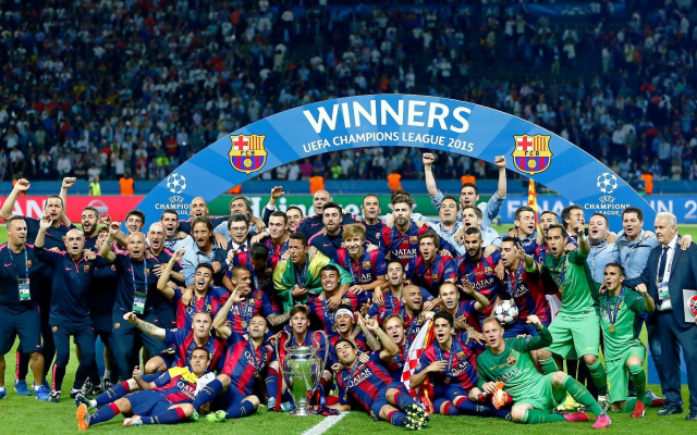 2032x1208 pix. Wallpaper barcelona, 2015, football, sport, uefa champions league
