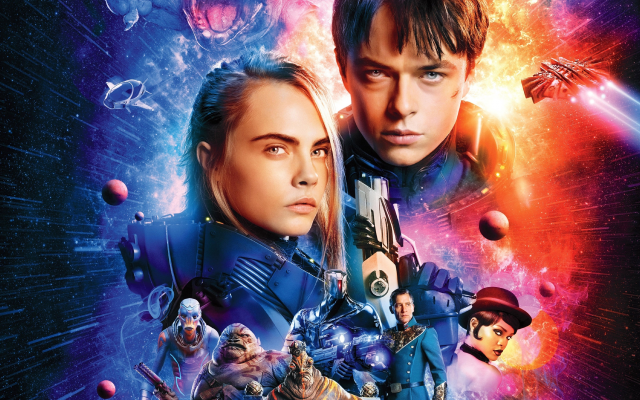3840x2160 pix. Wallpaper valerian and the city of a thousand planets, movies, dane dehaan, cara delevingne, actors, space