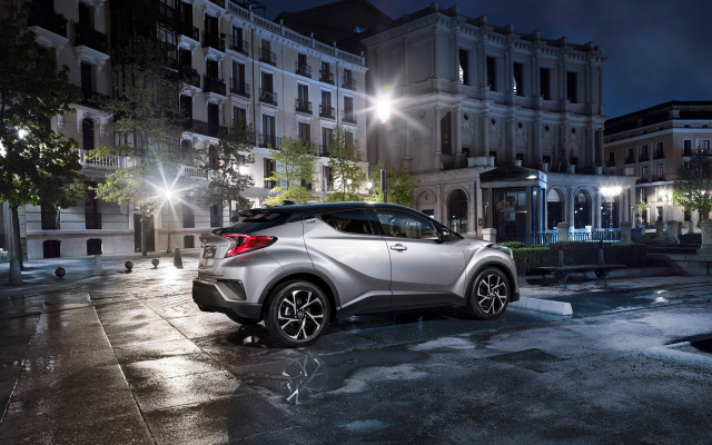 2664x1778 pix. Wallpaper 2016 toyota c-hr, toyota, suv, cars, toyota c-hr, city, night