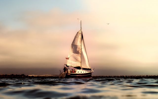 2000x1204 pix. Wallpaper ocean, sailing, sport, california, sailboat, pacific, sea