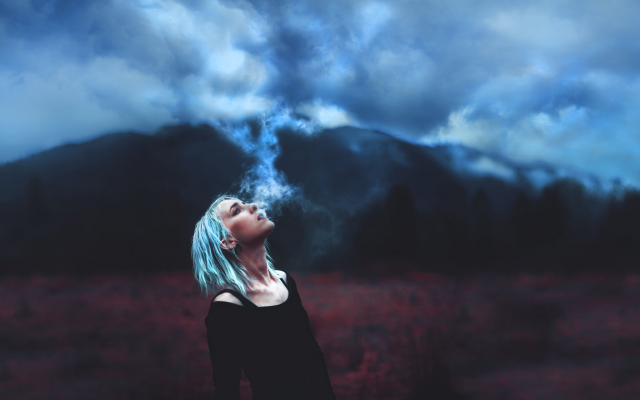 2048x1180 pix. Wallpaper kindra nikole, women, smoke, model, nature