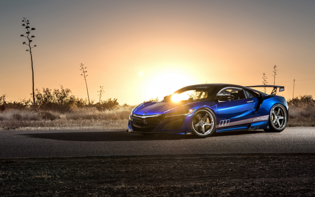 3840x2160 pix. Wallpaper honda nsx, dream project, nsx, acura, honda, cars, sunset