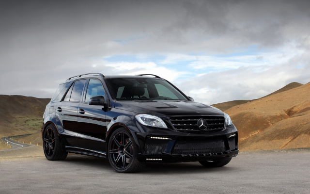 2560x1600 pix. Wallpaper 2013 mercedes ml63 amg inferno black, mercedes ml63, mercedes, mercedes-benz, cars, inferno black, tuning