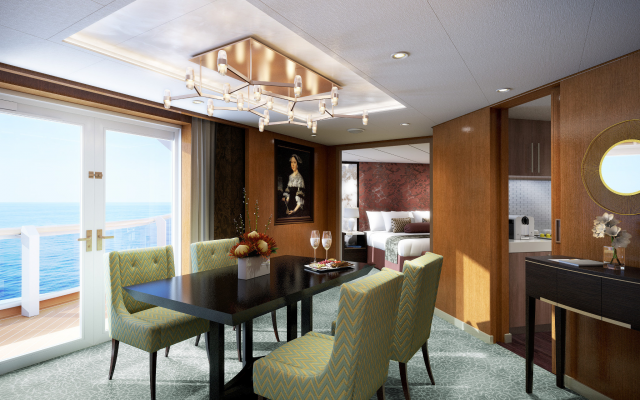 2048x1365 pix. Wallpaper pinnacle suite, holland america line, cruise liner, sea, suite