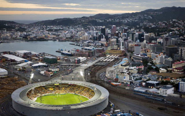 5000x3243 pix. Wallpaper city, stadium, new zealand, wellington, rugby, sport