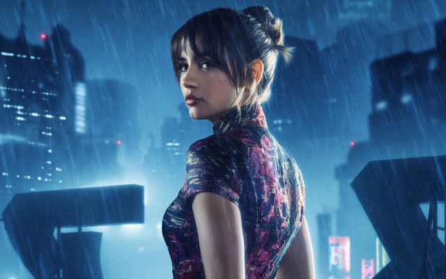4400x2750 pix. Wallpaper ana de armas, actress, blade runner 2049, women, movies, rain, brunette