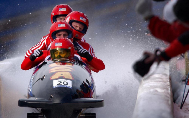 1920x1453 pix. Wallpaper sport, athletes, bobsled, winter, snow, ice, winter olympics