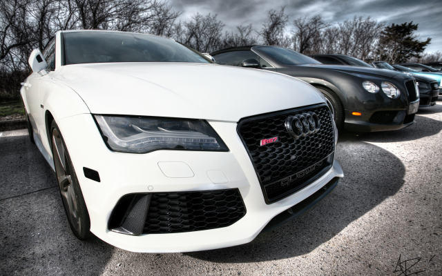 4368x2912 pix. Wallpaper audi rs7, audi, white car, cars