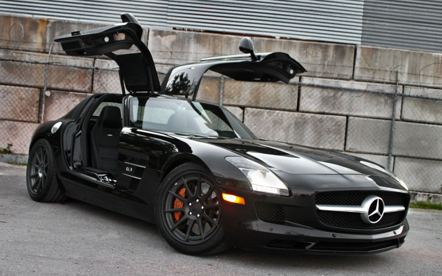 4752x3168 pix. Wallpaper mercedes-benz sls amg, cars, black car, mercedes-benz, mercedes